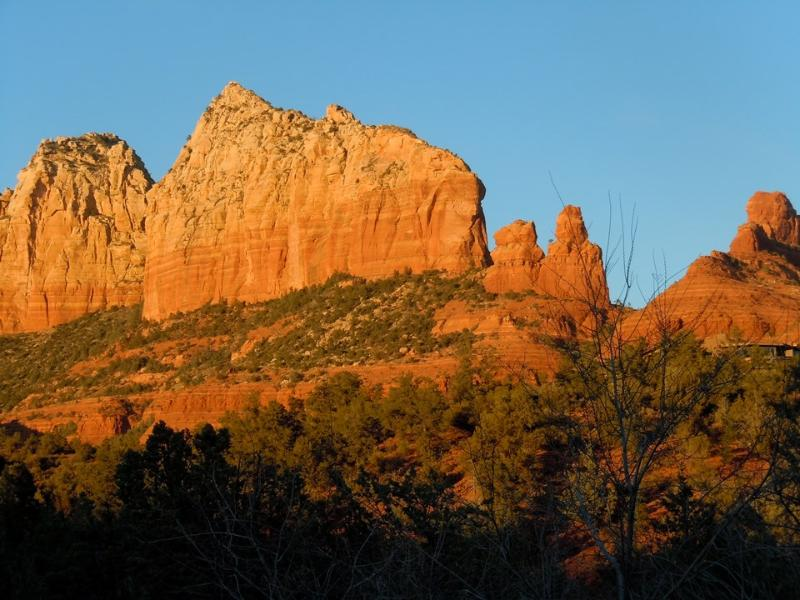 Located under the shadow of Wilson Mountain this is Sedona's oldest private land - Sedona Guest House at Jordan Park - Sedona - rentals