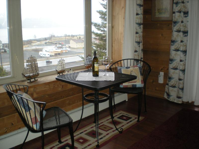 Enjoy a glass of wine or morning coffee with a great view! - Fabulous Views of Harbor & Resurrection Bay! - Seward - rentals