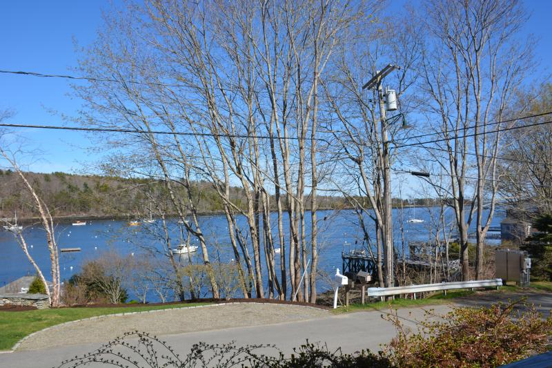 View of Rockport Harbor from house. - Lovely home with water views of Rockport Harbor - Rockport - rentals