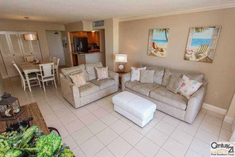 Living Area - SST3-409 - South Seas Tower - Marco Island - rentals
