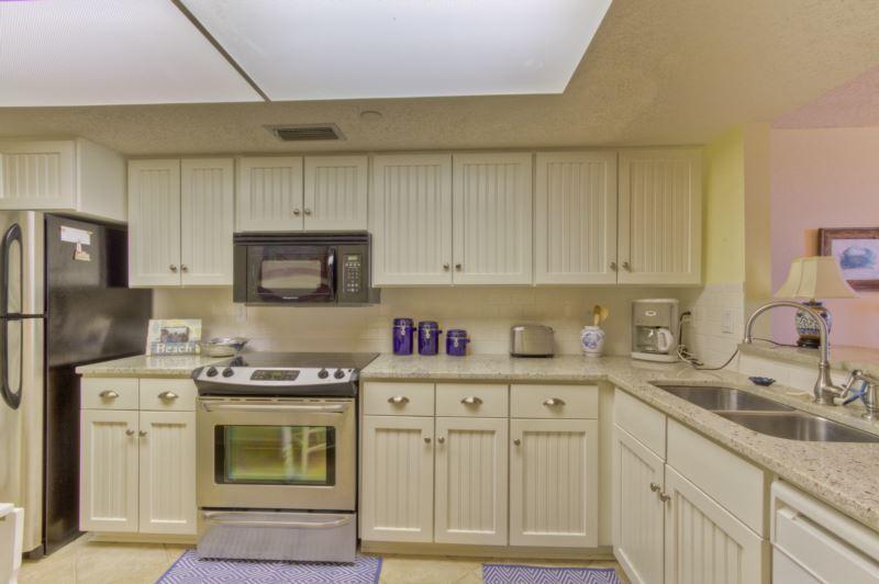 Renovated Kitchen - North Breakers #502 - Saint Simons Island - rentals