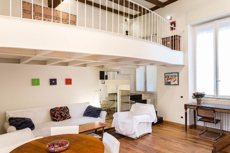 Living Room - Milano Loft - Milan - rentals