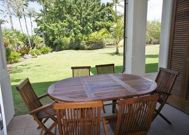 Tropical Views from Lanai - Tropical Oasis with 3 Master Suites at Islands at Mauna Lani K1 - Kamuela - rentals