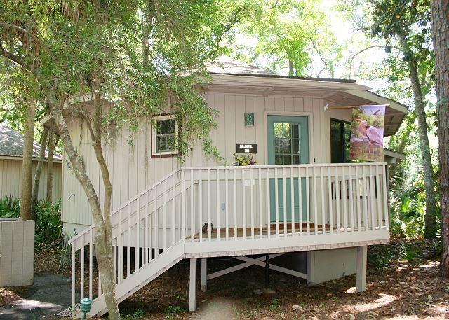 Night Heron 28 - Adorable 2 Bedroom Villa with Comfy Sun Room & easy Walk to the Beach! - Hilton Head - rentals