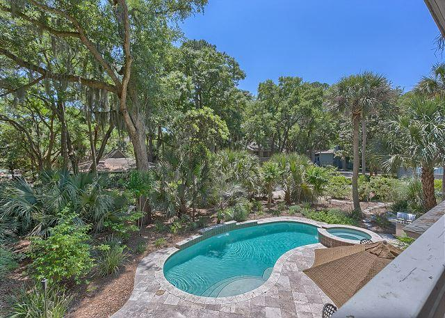 Private Pool & Spa - Great Vacation Home in Sea Pines with Private Pool & Spa & 4th Row Ocean - Hilton Head - rentals
