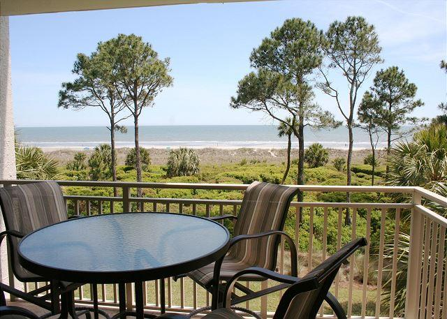 Private Oceanfront Balcony - 2 Bedroom Oceanfront 3rd Floor Villa with Private Oceanfront Balcony! - Hilton Head - rentals