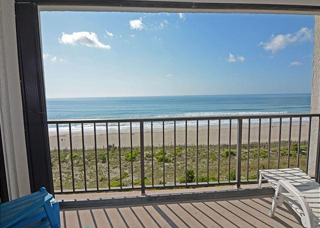 Station One - 5E Morgan - Oceanfront condo with community pool, tennis, beach - Image 1 - Wrightsville Beach - rentals