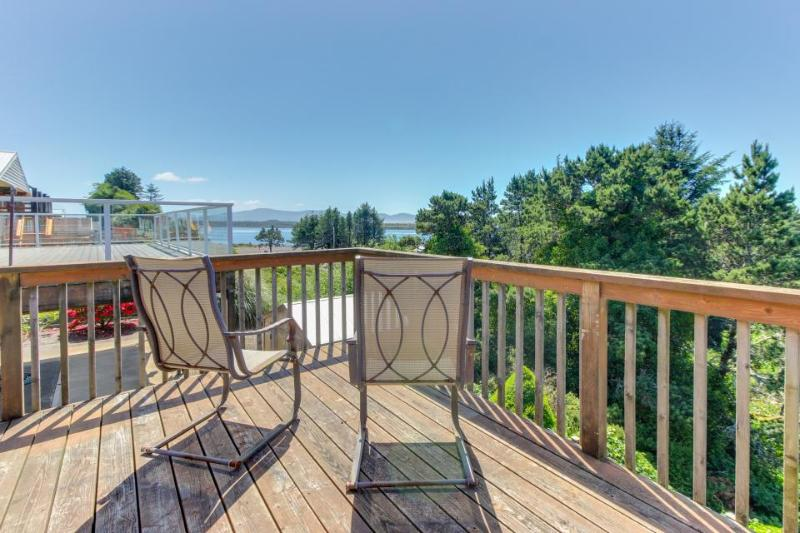 Cozy, dog-friendly home with beach access and bay & ocean views! - Image 1 - Rockaway Beach - rentals