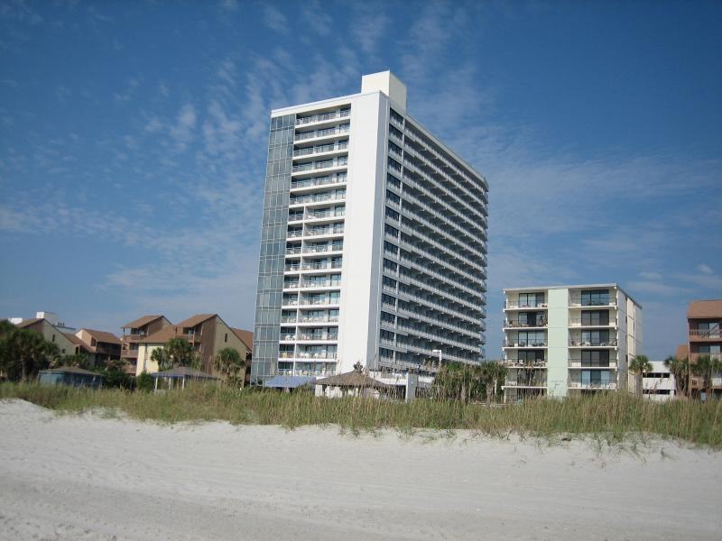 The Cabana Section is unique with its residential character and unobstructed views. - Forever Views-Large Penthouse-Oceanfront Resort - Myrtle Beach - rentals