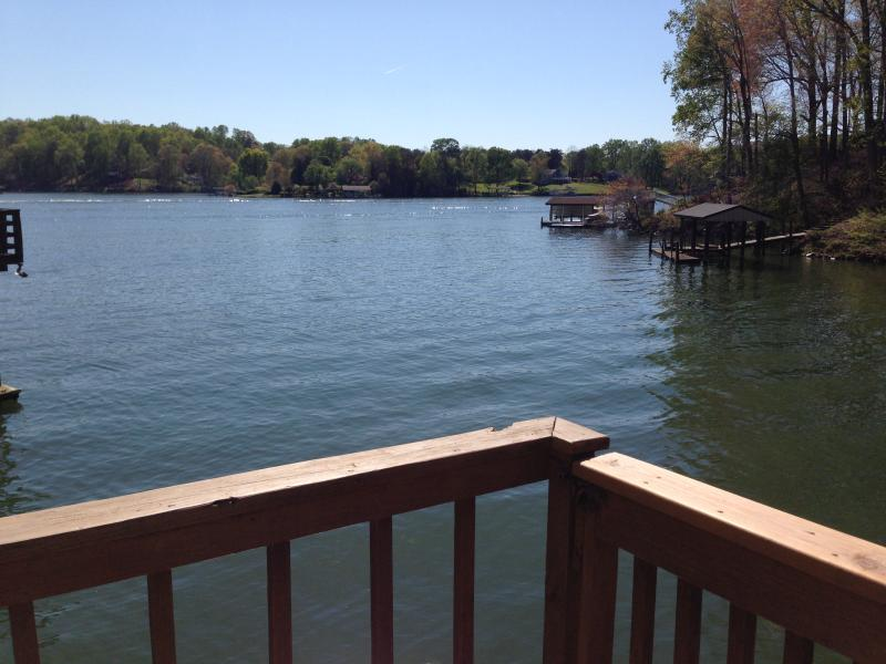 View from Dock - Beautiful 5BR 4 BA Lakefront Home sleeps 12 - Moneta - rentals