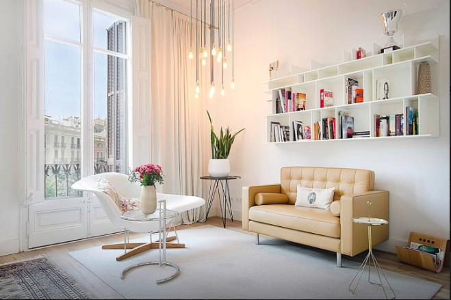 White Sensation Apartment - Image 1 - Barcelona - rentals