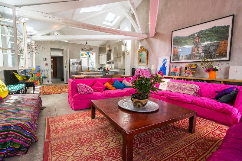 Living Room - Loft in the Heart of Marais, Center of Paris - Paris - rentals