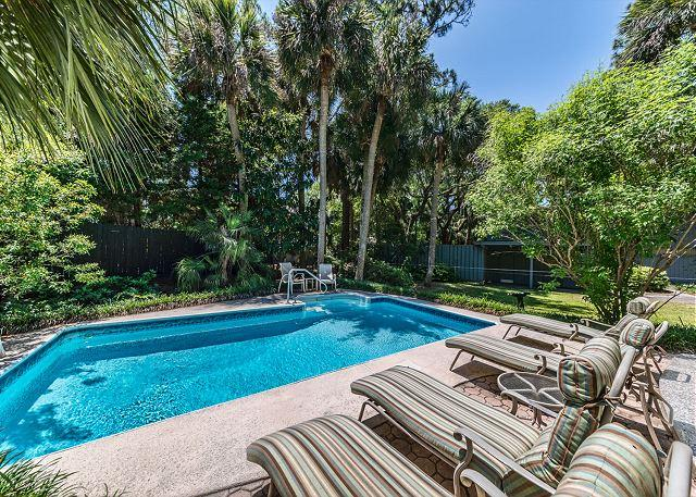 An Oasis of Relaxation - Surf Scoter 20, 4 Bedrooms, Private Pool, 3rd Row Ocean Home, Sleeps 14 - Hilton Head - rentals