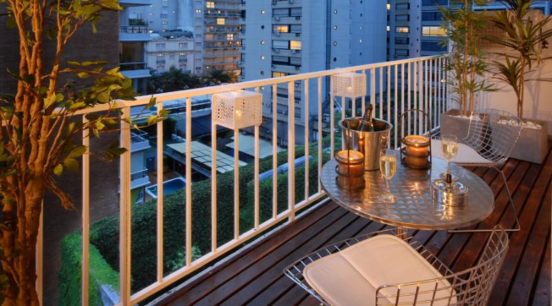 Balcony - ONLY 2 BLOCKS FROM SANTA FE !! AMAZING LOCATION! - Buenos Aires - rentals