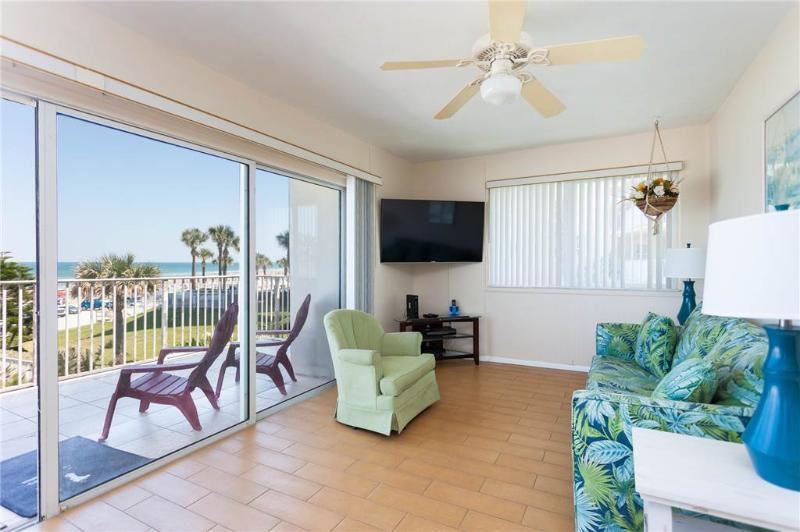 Dolphin Bay #2, 2 Bedrooms, Beach Front, Pet Friendly, WiFi, Sleeps 6 - Image 1 - Daytona Beach - rentals