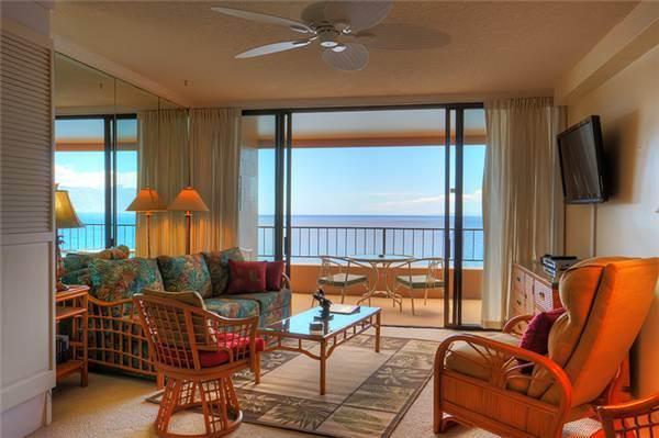 Maui Kai #707, Oceanfront Junior Suite - Image 1 - Ka'anapali - rentals