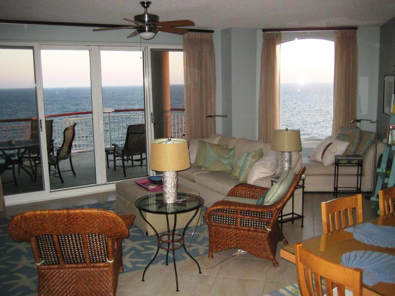 living room with incredible views - Beach Colony East Spectacular Views Beachfront - Navarre - rentals