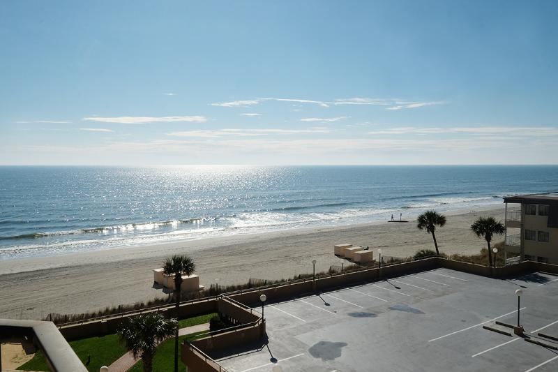 Awesome beach views from the balcony! - Maisons Sur Mer 302, ocean views/pool/tennis/WiFi! - Myrtle Beach - rentals