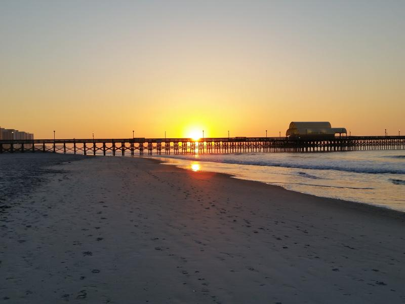 Beautiful sunrises every morning over the Apache Pier! - Maisons Sur Mer 110, amazing beach views!!! - Myrtle Beach - rentals