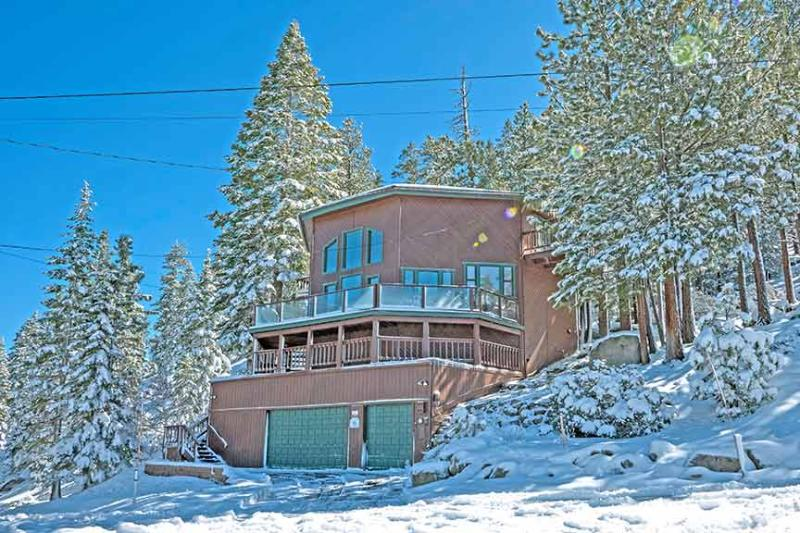 Exterior Winter - 1720 Keller Road - South Lake Tahoe - rentals