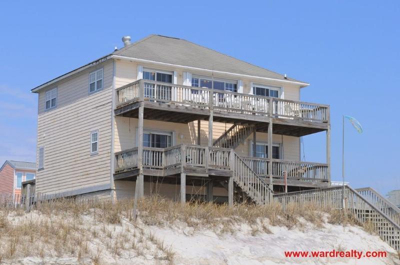 Sun Dog Oceanfront Exterior - Sundog - North Topsail Beach - rentals