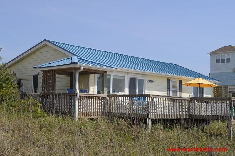 Oceanfront Exterior - Pelican's Bill - Surf City - rentals