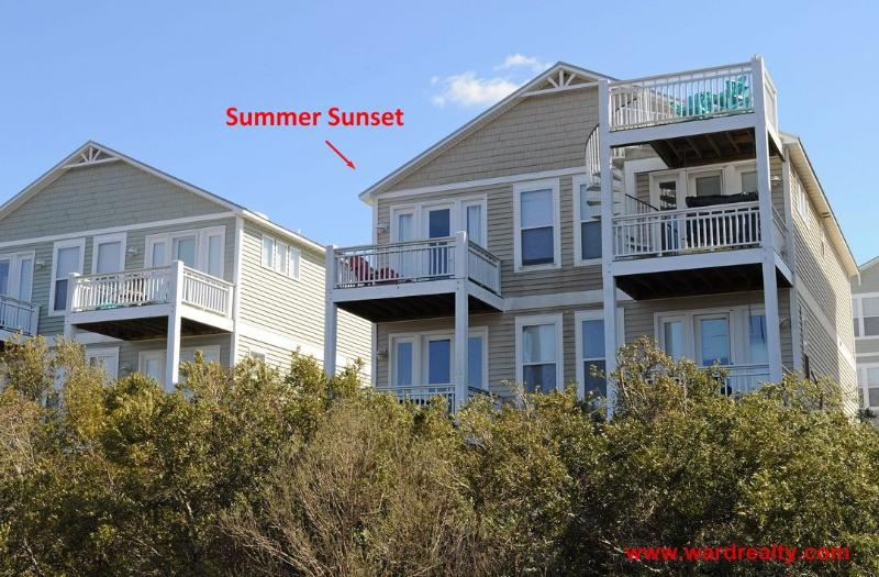 Summer Sunset Soundside Exterior - Summer Sunset - Surf City - rentals