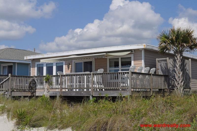 Oceanfront Exterior - Off the Hook - Surf City - rentals