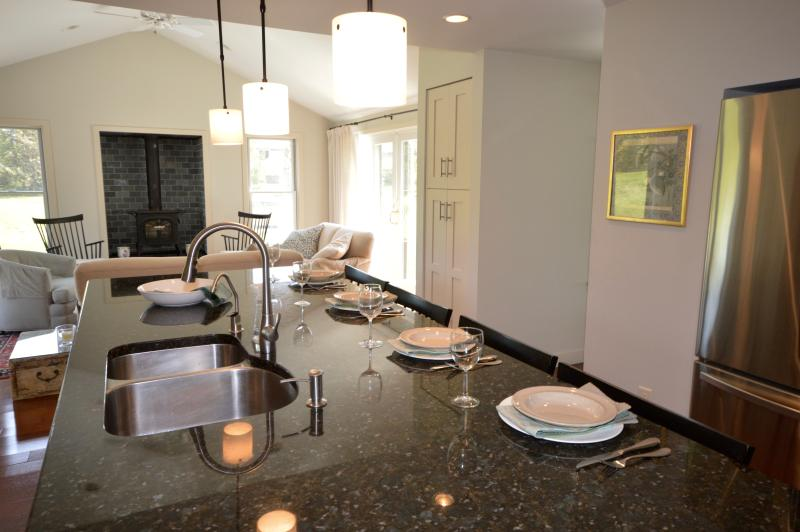New Chef`s Kitchen with breakfast bar/ island - Price Drop! Remodeled 4BR Near Nauset Beach - Orleans - rentals