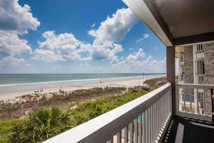 This is the view you and your family will enjoy, this isn't a model unit. - Cape Coddages II 202 - Surfside Beach - rentals