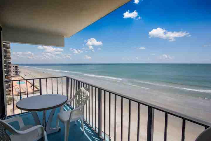Here's the view you and your family will enjoy, perfect fifth floor level, not too high, not too low. - Horizon East 501 - Garden City Beach - rentals
