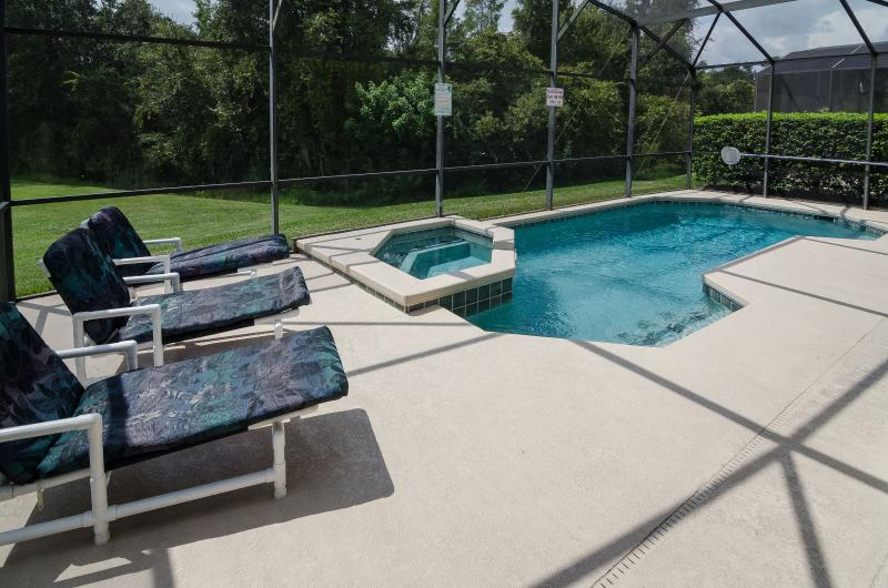 Pool and spa with conservation views - Six bedroom, pet friendly, executive pool home - Kissimmee - rentals