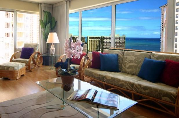 Fabulous 2BR ILIKAI  Oceanview & Sunset - Image 1 - Honolulu - rentals