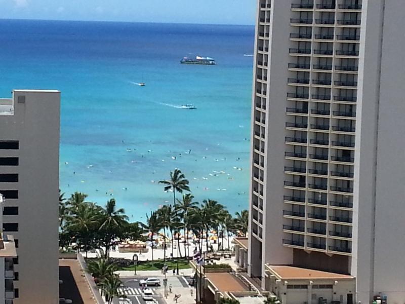 Stunning Ocean View 21st Floor Condo - Image 1 - Honolulu - rentals