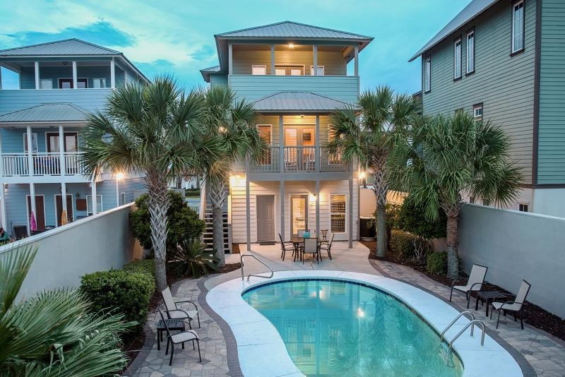 AQUASCAPE: Modern 30a Home-Gulf Views-Private Pool - Image 1 - Santa Rosa Beach - rentals