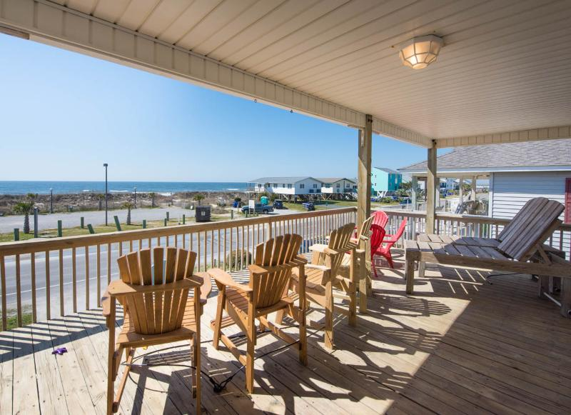 Beach House steps to sandy toes! - Image 1 - Oak Island - rentals