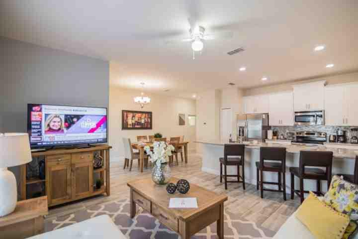 Beautifully Furnished Living Area w/Smart TV - 4809 Storey Lake - Kissimmee - rentals