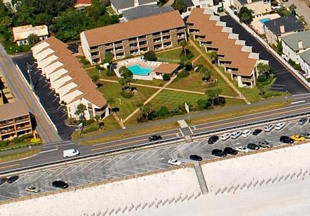 Blue Surf Townhomes as seen from the sky. . . - Blue Surf 12A - Miramar Beach - rentals