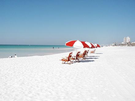 Beach set ups are available for purchase for your family. - Blue Surf 12A - Miramar Beach - rentals