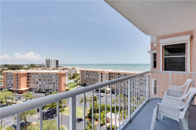 Bermuda Dunes 903, 2 Bedrooms, Gulf Front, Elevator, Heated Pool, Sleeps 4 - Image 1 - Fort Myers Beach - rentals