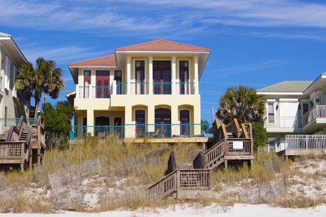 The Bash as seen from The Beaches of Walton County. - The BASH - Miramar Beach - rentals