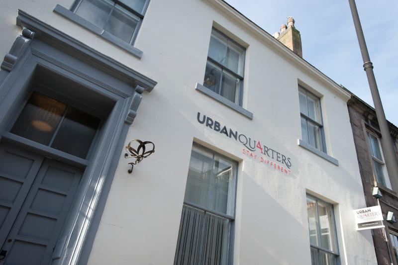 Urban Quarters is conveniently located in the heart of Dundee's cultural quarter. - Urban Quarters - Luxury serviced-style apartments - Dundee - rentals