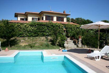 4 bedroom Villa in Castelnuovo, Tuscany, Italy : ref 1719942 - Image 1 - Castelnuovo Misericordia - rentals