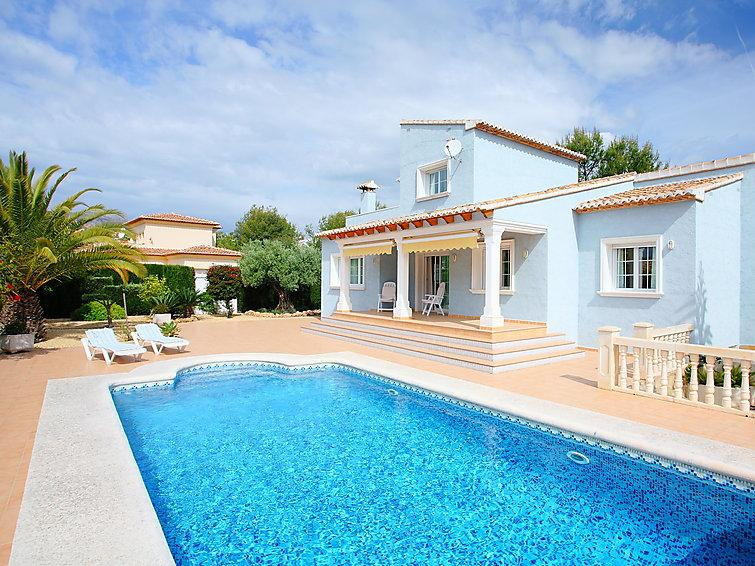 4 bedroom Villa in Calpe Calp, Costa Blanca, Spain : ref 2008092 - Image 1 - Calpe - rentals