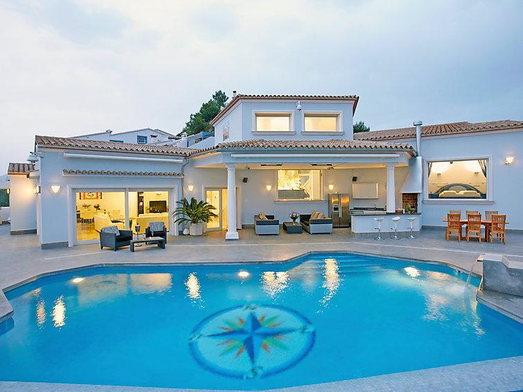 4 bedroom Villa in Moraira, Costa Blanca, Spain : ref 2008127 - Image 1 - Benitachell - rentals