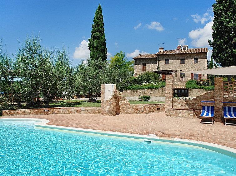 3 bedroom Villa in Certaldo, Chianti Classico, Italy : ref 2008477 - Image 1 - Lucardo - rentals