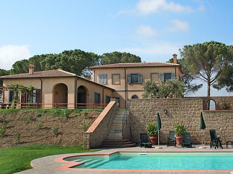 4 bedroom Villa in Saturnia, Maremma Volterra, Italy : ref 2008714 - Image 1 - Pomonte - rentals