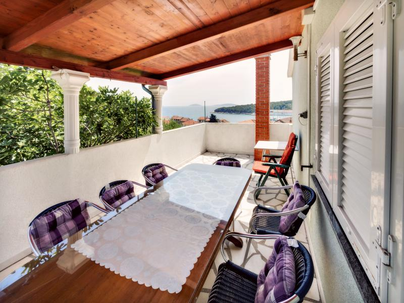 terrace - Amazing sea view! - Prvic - rentals