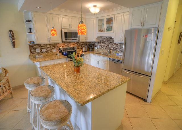 New Beautiful Renovations Throughout This Third Floor Condo - Image 1 - Kihei - rentals