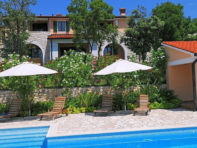 5 bedroom Villa in Rabac Sveti Lovrec Labinski, Istria, Croatia : ref 2020770 - Image 1 - Viskovici - rentals